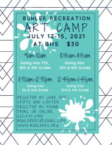2021 Art Camp