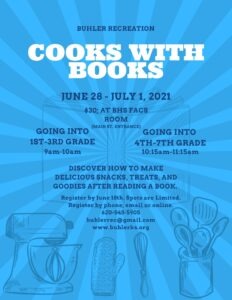 Cooks with Books 2021